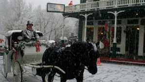 California towns with holiday spirit Nevada City Victorian Christmas