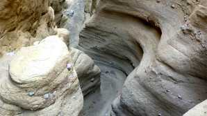 Borrego Badlands e Font's Point Palm Wash, Anza Borrego Desert S