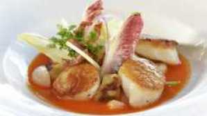 George's at the Cove Pan Seared Day Boat Scallops 1