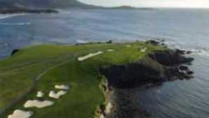 卡梅尔海滩 Pebble-Beach-Golf-Links
