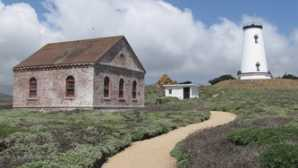 Gardens at Hearst Castle Piedras Blancas Light Station -