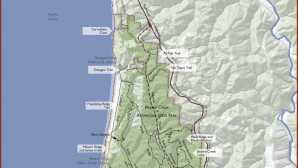 Parc national de Redwood Prairie Creek Redwoods State Par