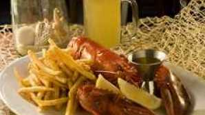 16 Restaurantes à Beira-Mar Sams-Lobster-n-Fries
