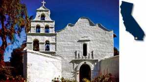 Central Coast Missions San Diego de Alcalá | California
