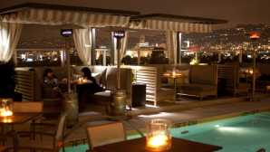 Spago 的 Wolfgang Puck The Roof on Wilshire