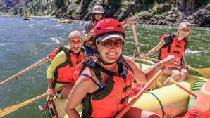 The American River  Whitewater Rafting Adventures wi