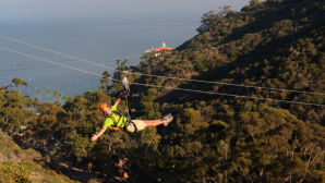 カタリナ島のゴルフ Zip Line Eco Tour | Catalina Isl