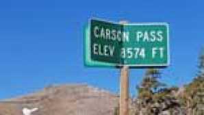 카슨 패스 트레일 carson_pass_sign