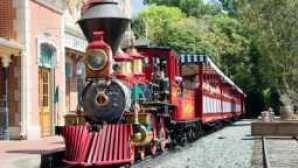 Getting Around the Disneyland Resort disneyland-railroad-06