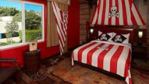Legoland Hotel pirate-room