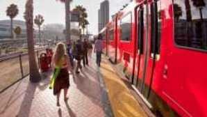 Baie de San Diego et Mission Bay san-diego-light-rail