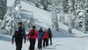 Drakesbad Guest Ranch snowshoe-walks