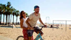 Santa Monica Biking