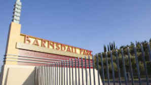 Entrance to Barnsdall Park, Los Feliz