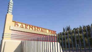 Entrance to Barnsdall Park, Los Feliz