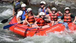 Whitewater rafting in Sacramento