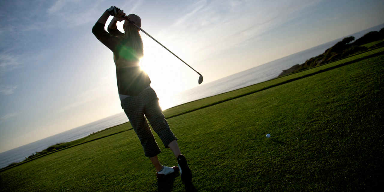 Golfe em Orange County