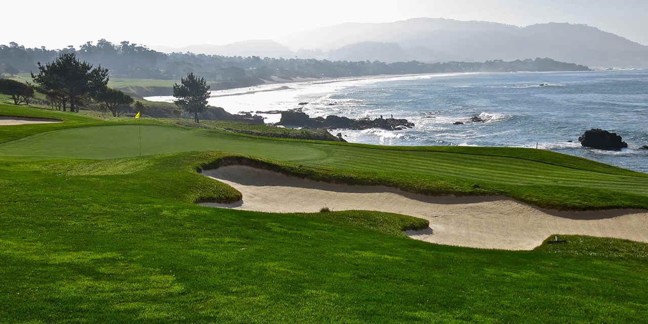 Golfspielen in Monterey und Carmel