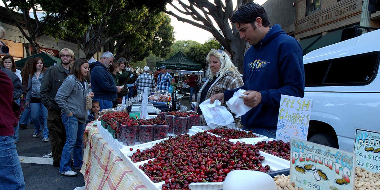 San Luis Obispo Farmers Market