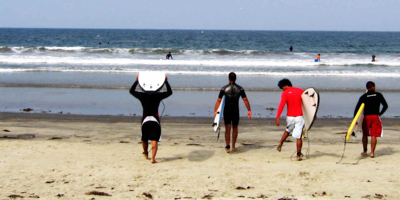 Silver Strand State Beach 银线州立公园