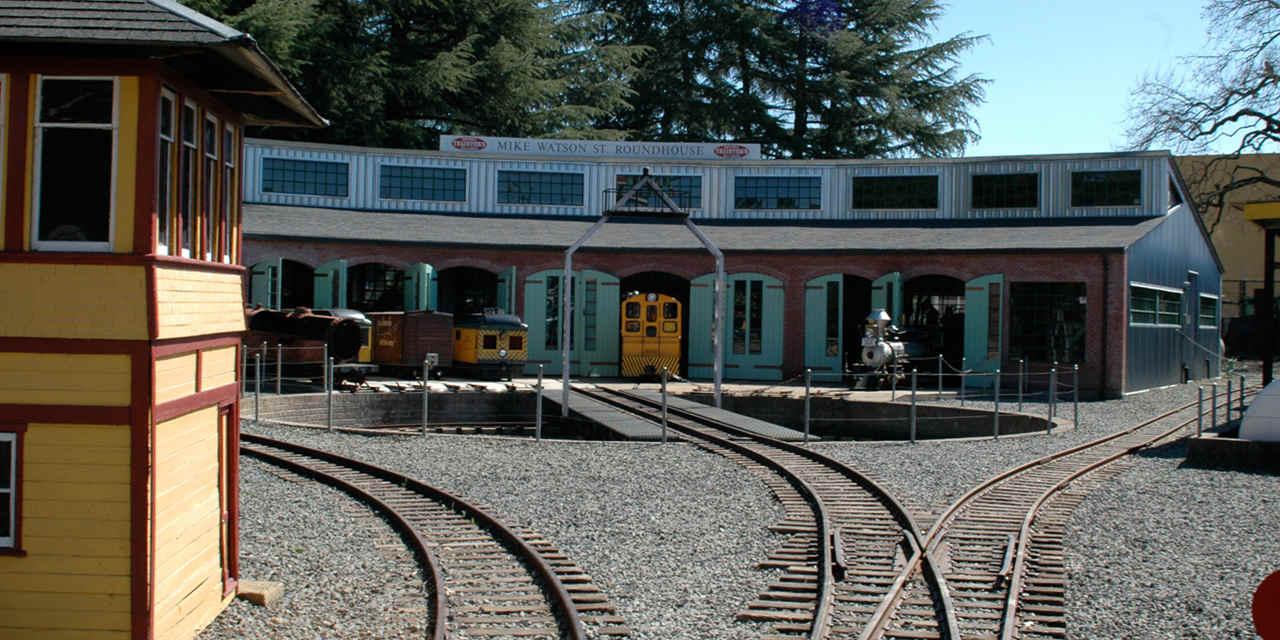 索诺玛火车镇铁路公园