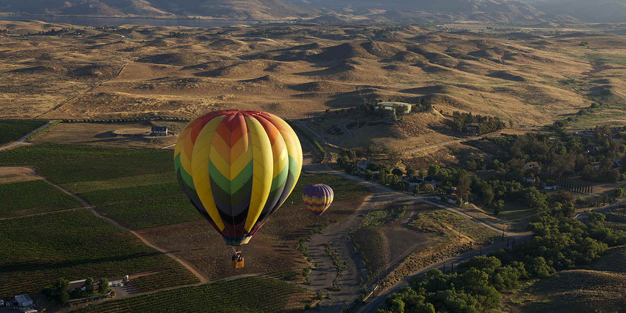 California Welcome Center - Ontario TemeculaHotAirBalloon_1280x642