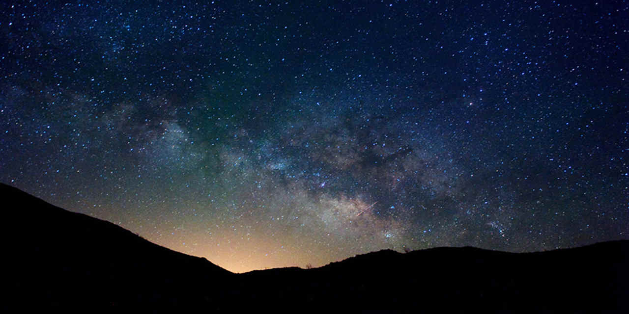 Ammirare le stelle nell'Anza-Borrego Desert State Park