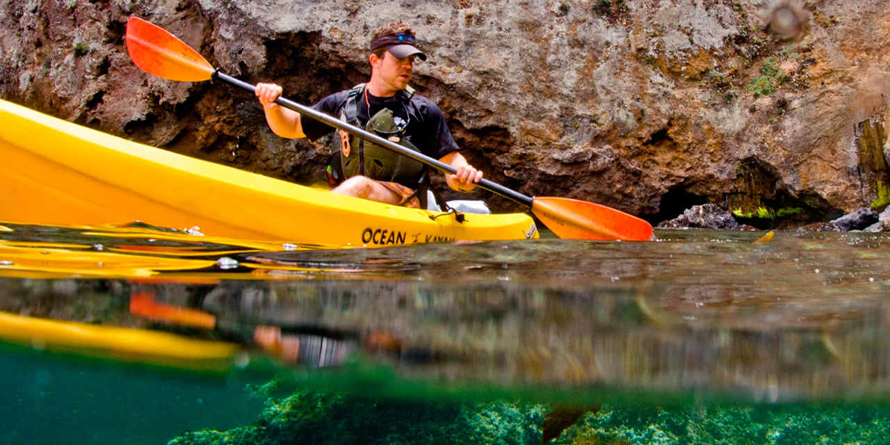 Kayak nelle Channel Islands