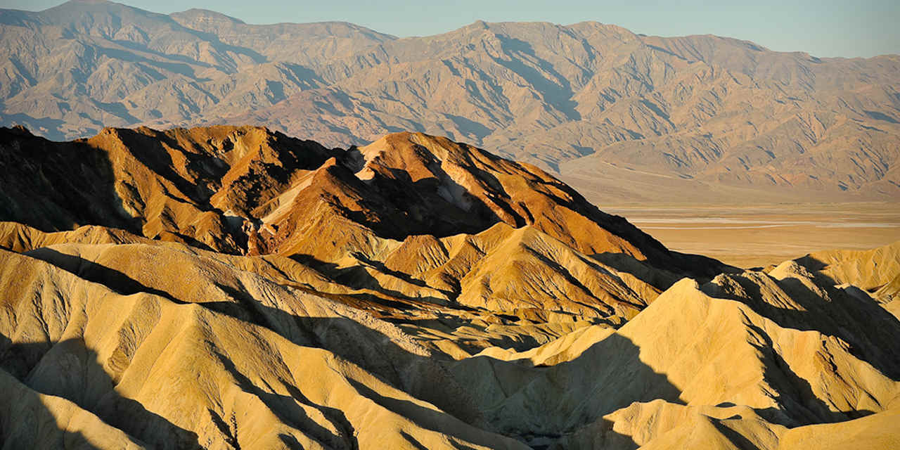Golden Canyon et Zabriskie Point
