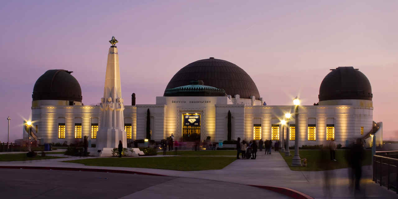Griffith Park et le Griffith Observatory