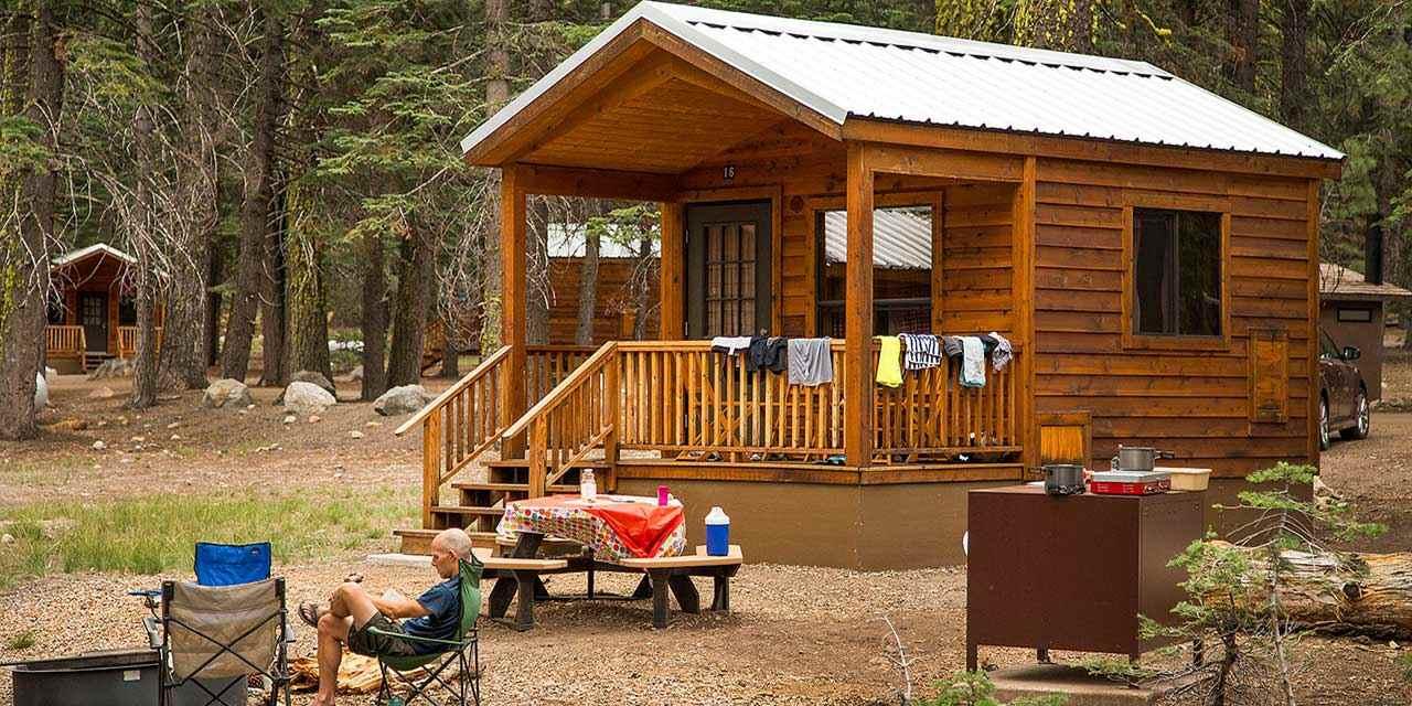 Campeggio a Lassen