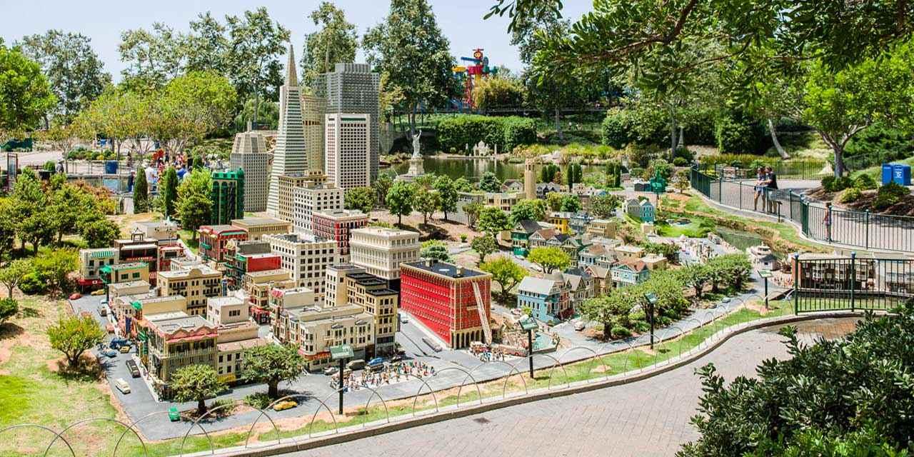 Legoland - Miniland USA