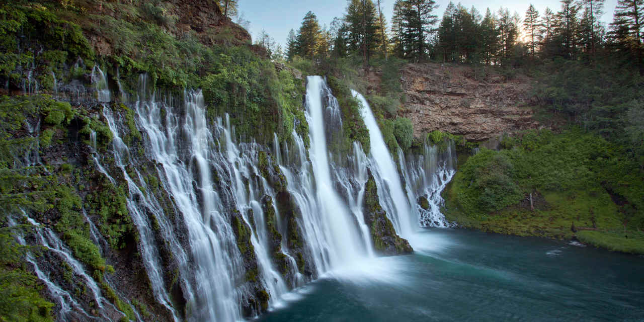 Cascate Burney Falls