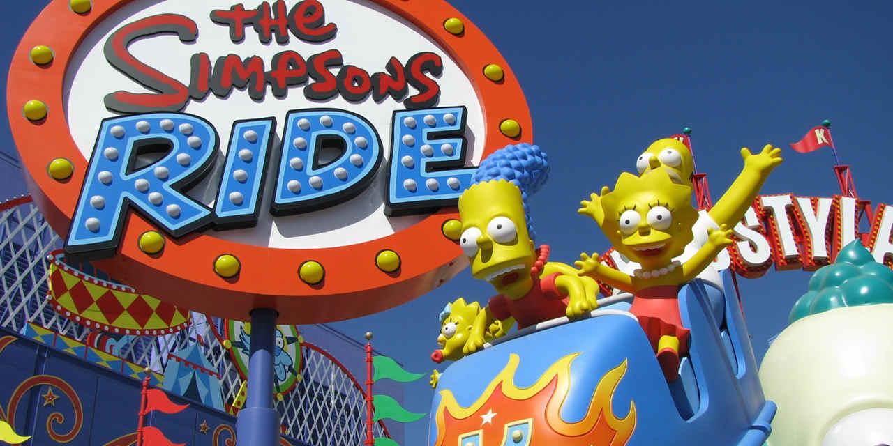 Uma volta com Os Simpsons
