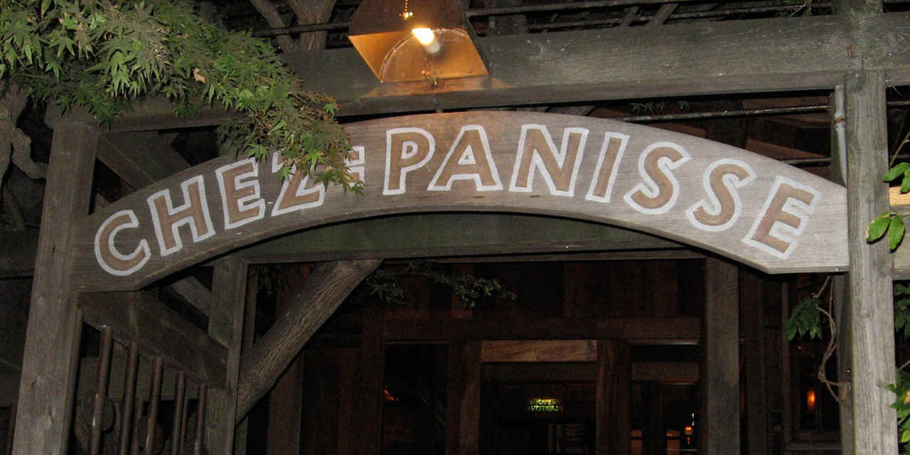 Alice Waters no Chez Panisse