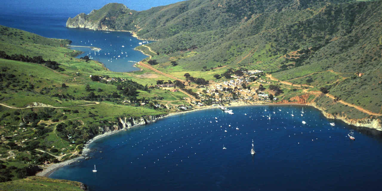 Coastal Camping on Catalina