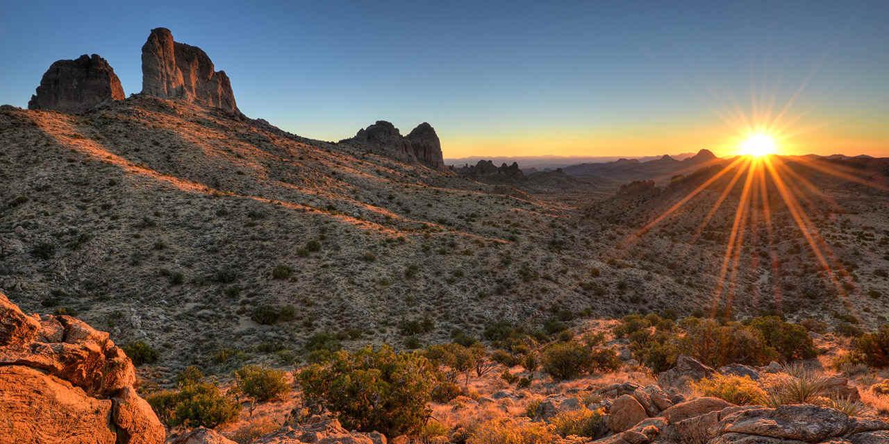 I nuovi monumenti nel deserto della California