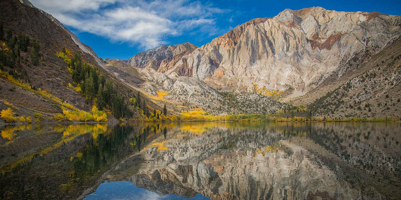 Autumn Foliage in Mammoth Lakes and June Lake