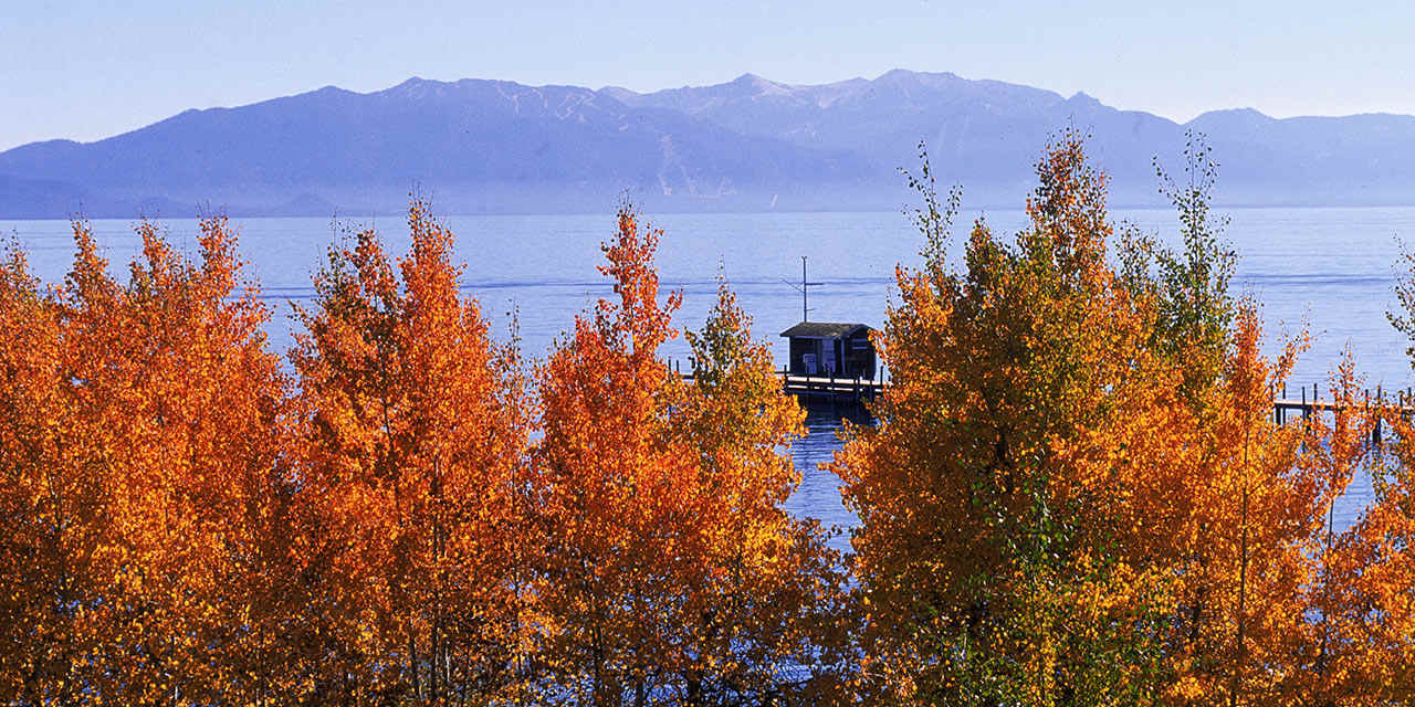 Autumn in Lake Tahoe and Hope Valley