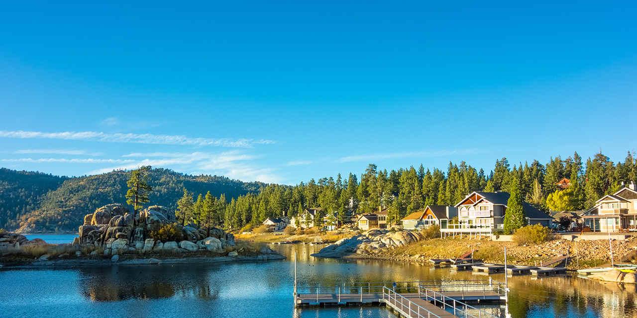 빅 베어 레이크(Big Bear Lake)와 엘비스 프레슬리(Elvis Presley)