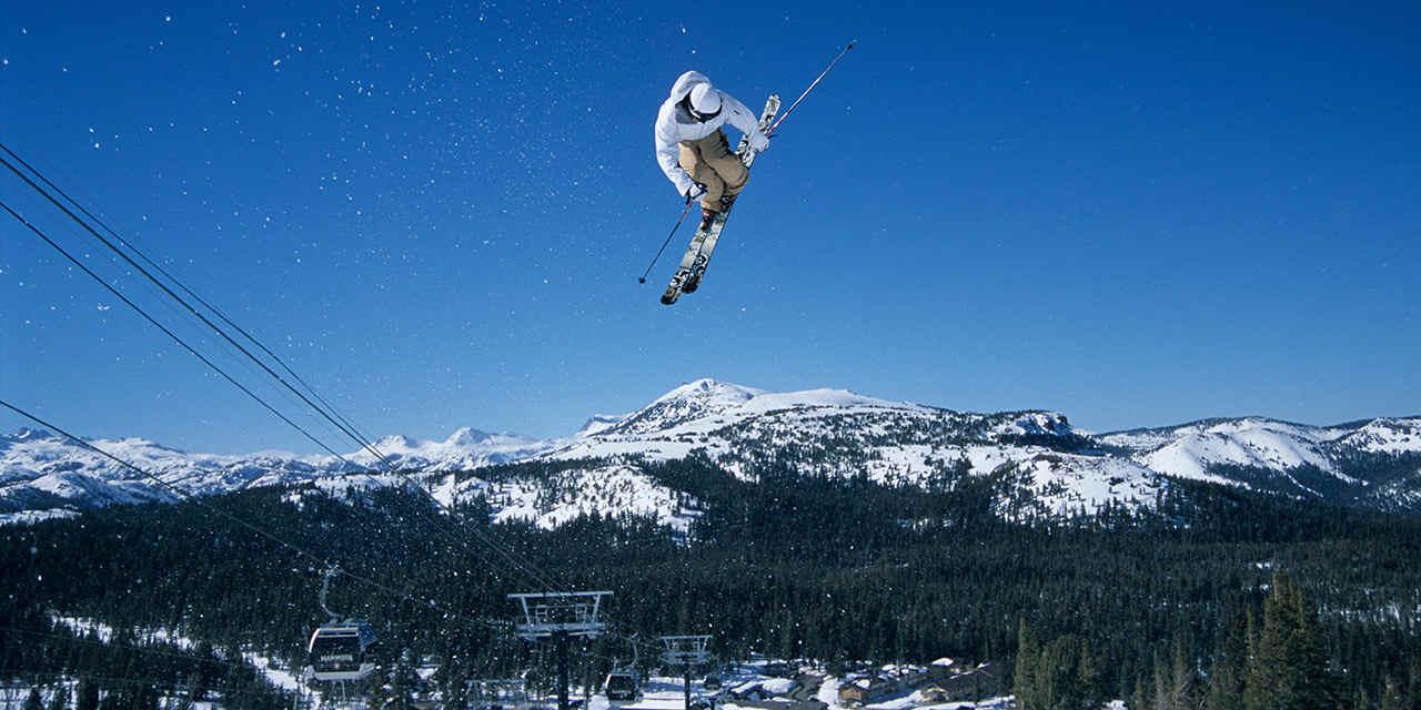 멋진 경관을 자랑하는 6대 스키 슬로프