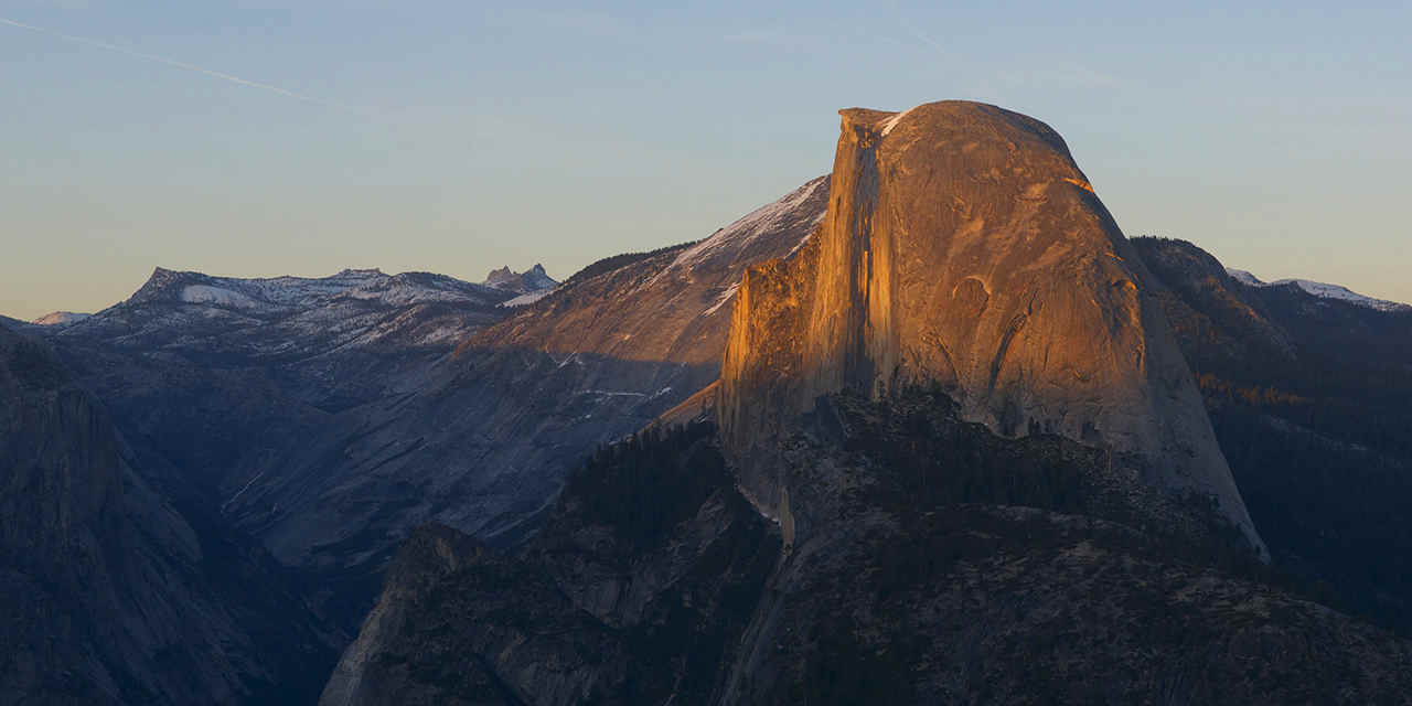 Il Glacier Point a Yosemite