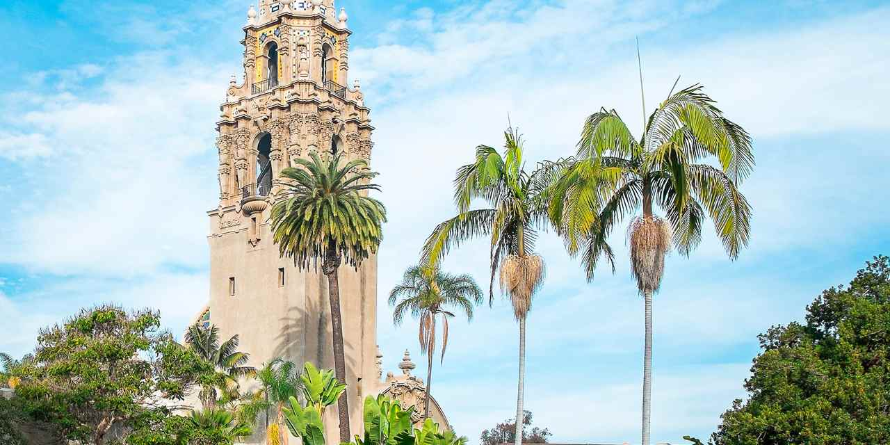 California Tower - Balboa Park, San Diego