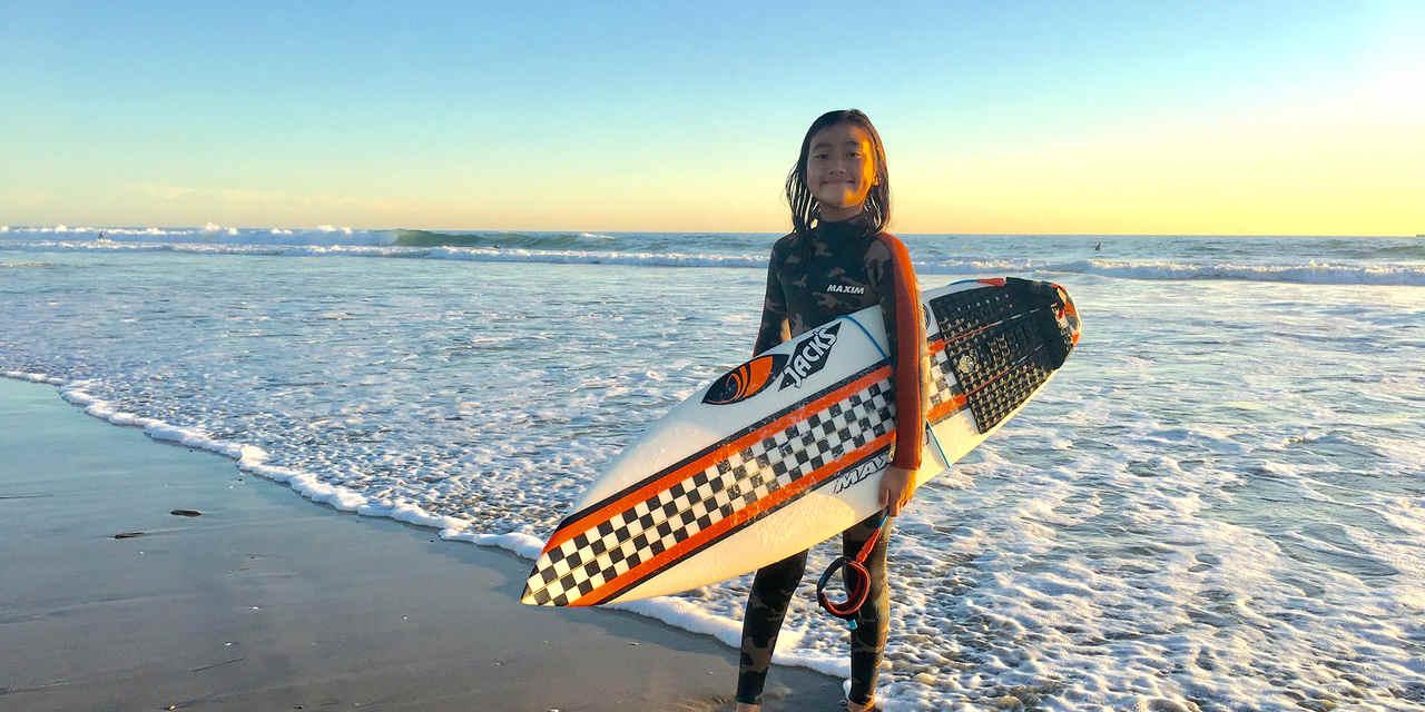 Dream Kids Surfer Hira - Interview Series: マイ・カリフォルニア