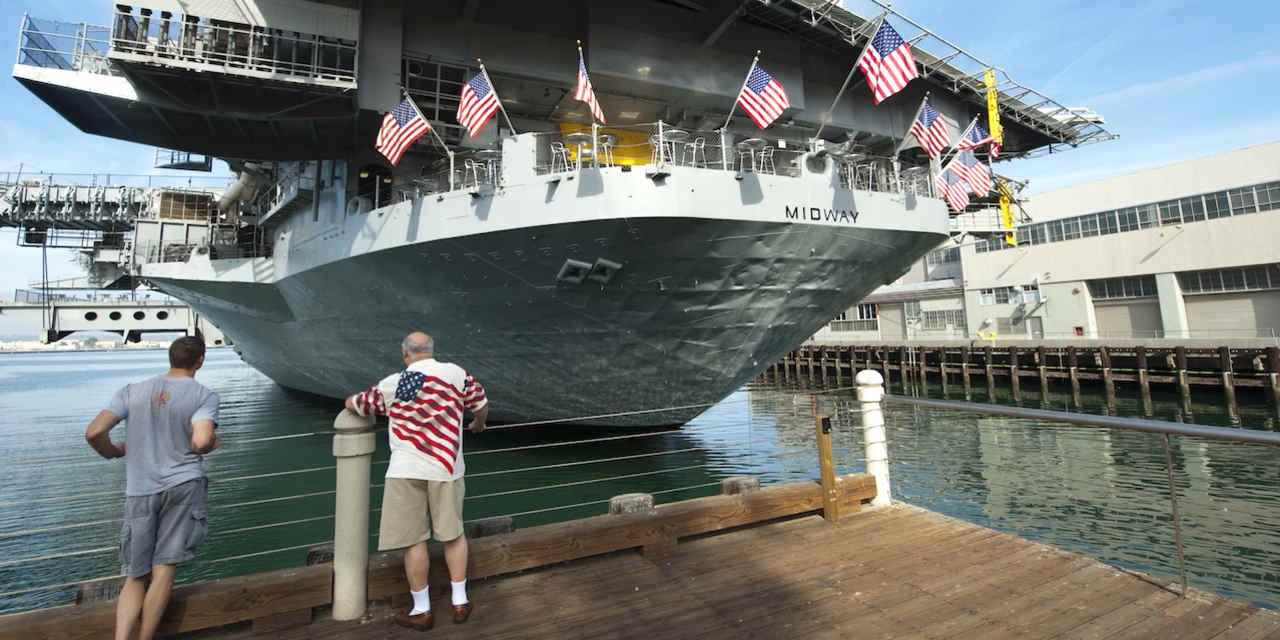 USS 미드웨이 & 워터프론트