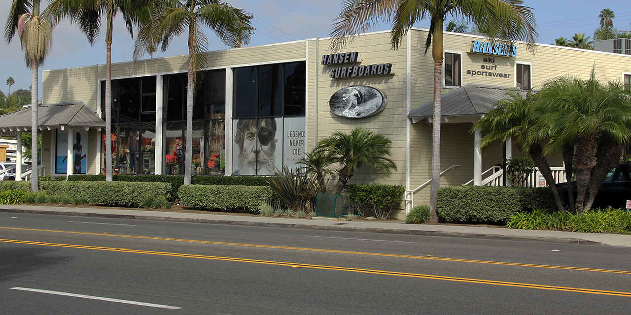 Hansen Surfboards en Encinitas