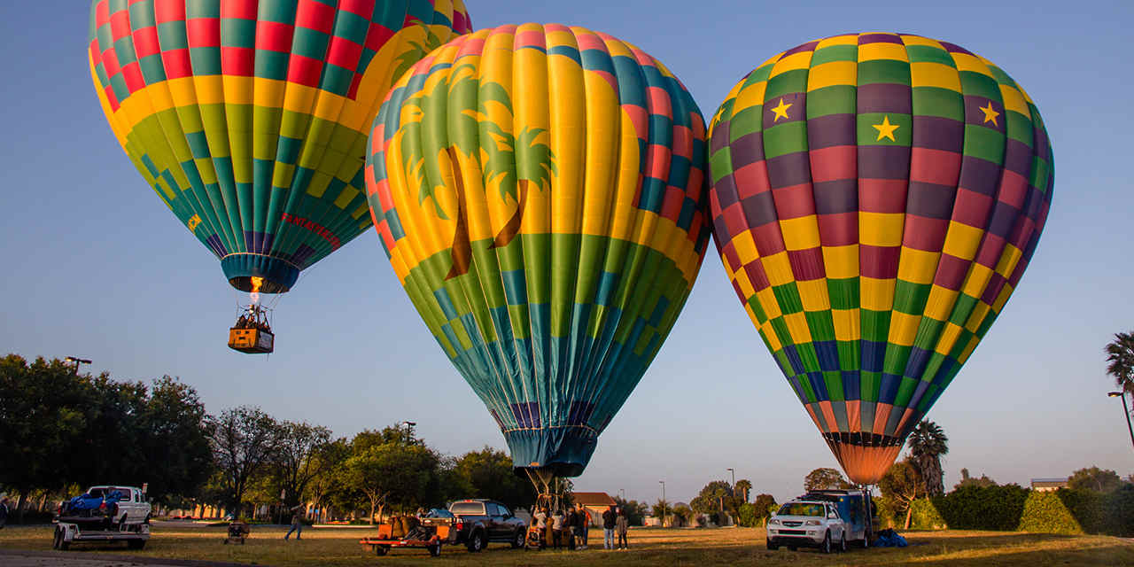 Hot Air Balloon Tours of Palm Springs