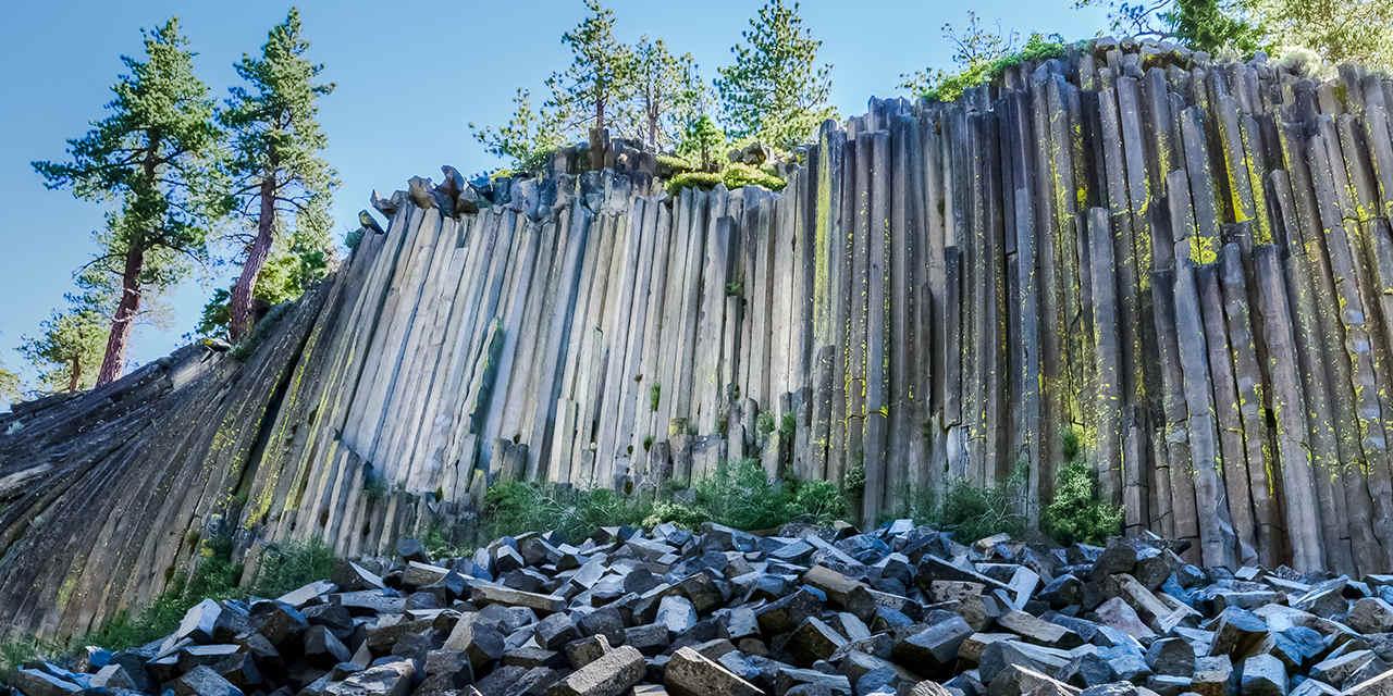 Pacific Crest Trail: Devils Postpile
