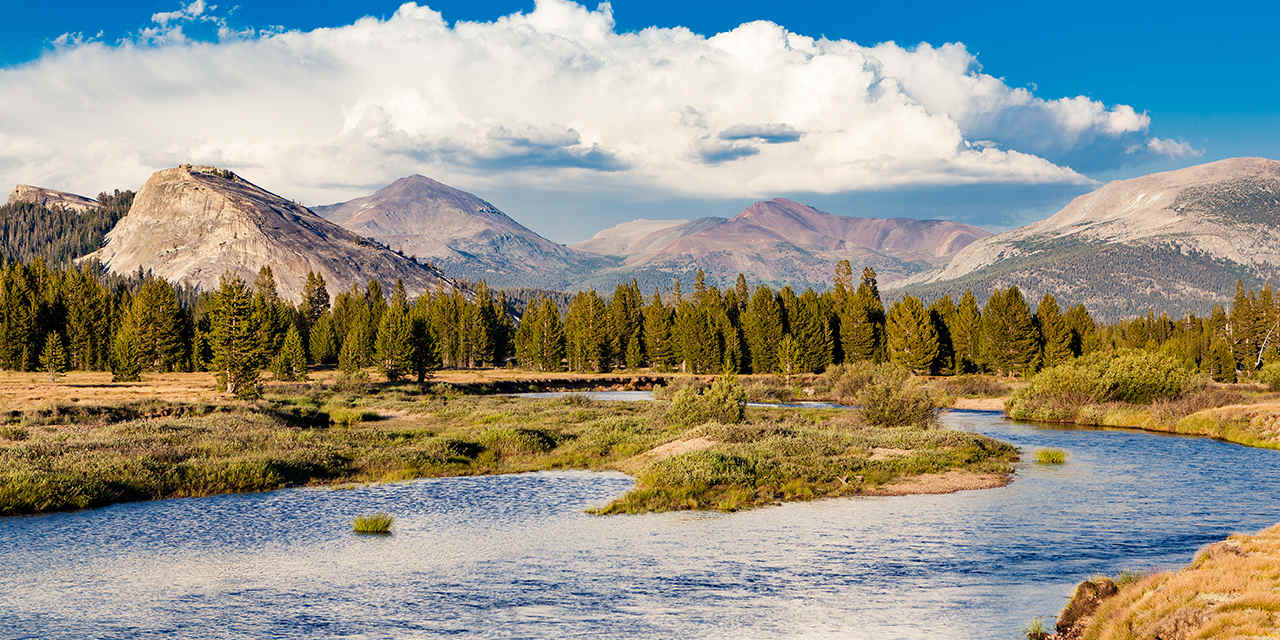 Pacific Crest Trail: Yosemite's Tuolumne Meadows