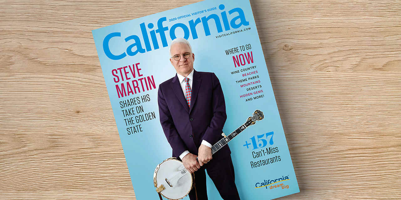 Order a Free California Visitor's Guide